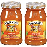 Smucker's Simply Fruit Spread - Apricot - 10 oz - 2 ct
