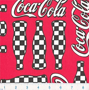Coca Cola Fabric By The Yard http://www.amazon.com/Wide-Checkered-Coca-Cloth-Fabric/dp/B004ENUODM