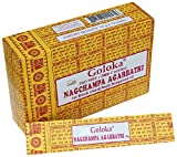 Burn this natural masala incense to create a divine fragrance for the soul. This hand rolled incense is made according to traditional Indian recipes using methods unchanged in 400 years. It comes in a colourful box containing 12 smaller boxes...