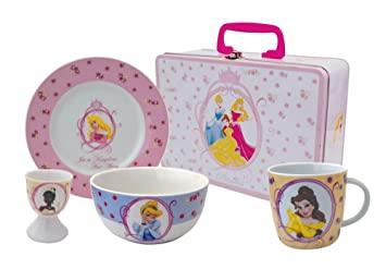 disney princess service service petit d jeuner en porcelaine 4 pi ces cuisine maison z429. Black Bedroom Furniture Sets. Home Design Ideas