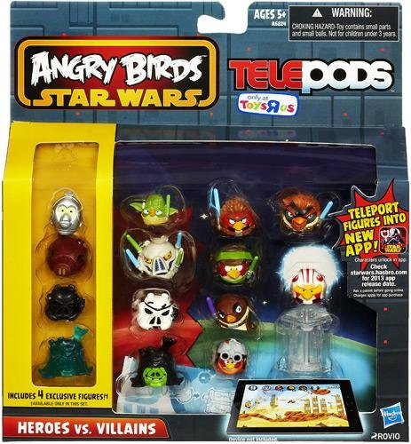 Angry Birds GO! Telepods Exclusive Birds Pack Heroes vs Villains