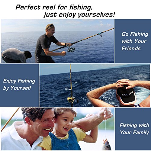 Homar left right fishing spinning reels best in fishing for Best saltwater fishing line