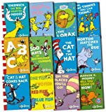 Dr. Seuss Dr. Seuss Collection 12 Books Set Pack (Fox in Socks, The Cat in the Hat Comes Back, Dr. Seuss' ABC, Hop on Pop, There's A Wocket In My Pocket, Horton Hears A Who!, Dr. Seuss' Sleep Book, Scrambled Eggs Super! and more)