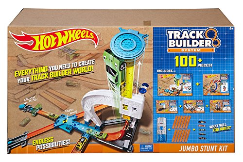 Hot Wheels Track Builder Ultimate Jumbo Stunt Kit (Hot Wheels Starter compare prices)