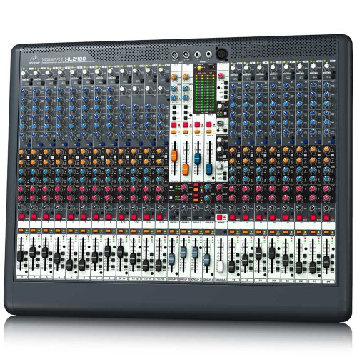 Behringer Xl2400 Xenyx Premium 24-Input 4-Bus Live Mixer With Xenyx Mic Preamps And British Eqs