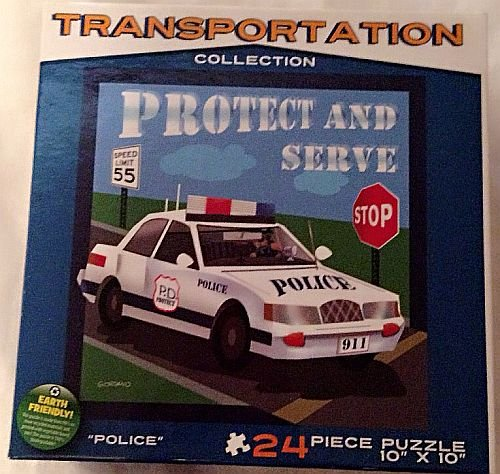 Protect and Serve Police 24 Piece Puzzle - 1