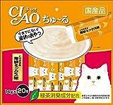 チャオ (CIAO) ちゅ~る とりささみ 海鮮ミックス味 14g×20本入り