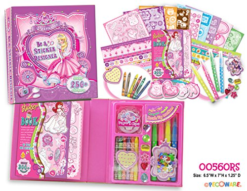 Pecoware Be a Sticker Designer Princess Set - 1