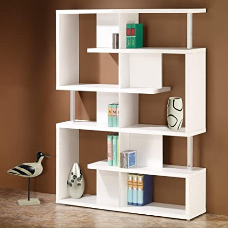 Coaster Home Furnishings Transitional Bookcase, White
