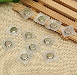 10 Pairs Stitchable Strong Magnetic Buttons by Abcstore99