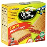 Health Valley Low-Fat Tart, Strawberry, 6-Count 8.5-Ounce Boxes (Pack of 6)