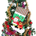 "Ohuhu 18"" Santa Christmas Stocking"