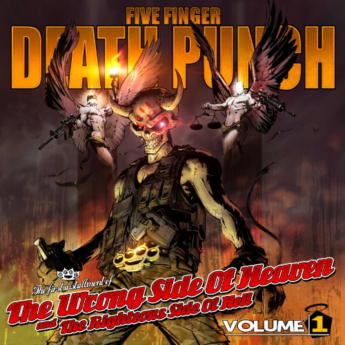 Five Finger Death Punch - The Wrong Side of Heaven & the Righteous Side Of Hell Vol. 1 (2CD Deluxe Edition)