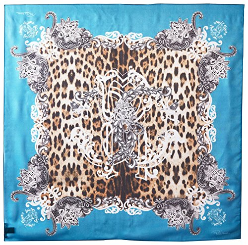 Roberto-Cavalli-Womens-Patterned-Scarf-Multi