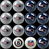 NFL New England Patriots Billiards Ball Set