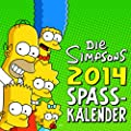 Die Simpsons Wandkalender 2014: Die Simpsons Spa�kalender 2014