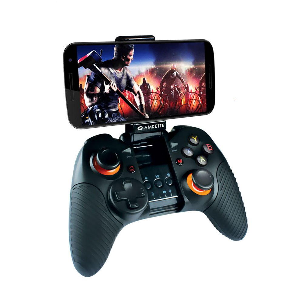 Amkette Evo Gamepad Pro 2 (Bluetooth Wireless Controller for Android Smartphone and...