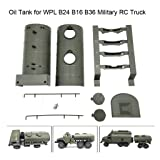 Wenini WPL Remote Control Army Green Oil Tank for WPL B24 B16 B36 Military RC Car Truck (1 Set of WPL) (Color: 1 Set of Wpl, Tamaño: 20.7 x 13.5 x 9)
