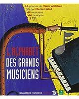 L'alphabet des grands musiciens (1 livre + coffret de 2 CD)