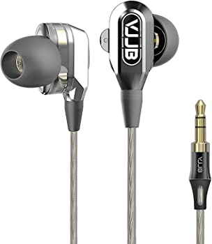 GranVela V1 Dual Dynamic Driver Professional In-Ear Headphones