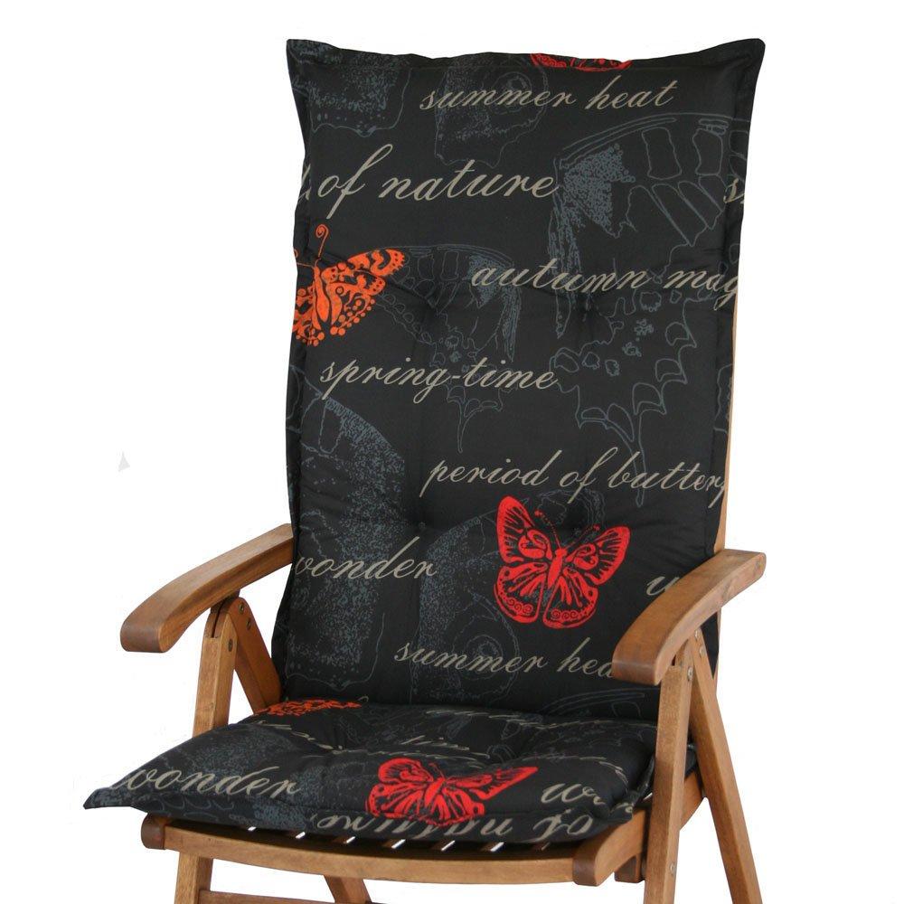 6 Gartenmöbel Auflagen für Hochlehner Sun Garden Prato 40240-701 schwarz online bestellen