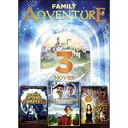 3-Movie Family Adventure: Mysterious Museum / Teen Sorcery / Teenage Space Vampires