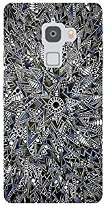 The Racoon Grip Mandala hard plastic printed back case / cover for Letv Le Max