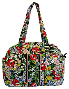 vera bradley baby bag diaper bag poppy fields diaper tote bags baby. Black Bedroom Furniture Sets. Home Design Ideas