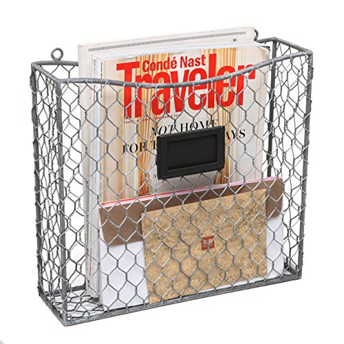 Mail slot basket amazon