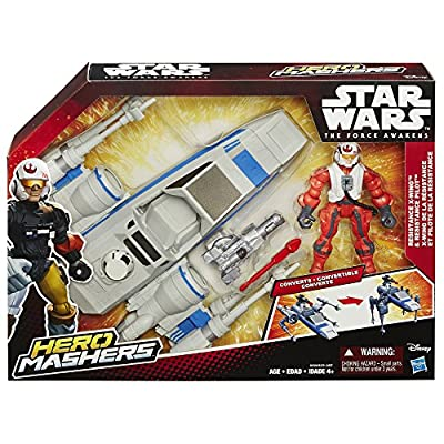 Star Wars Hero Mashers Episode VII Resistance X-Wing and Resistance Pilot by Star Wars