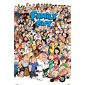 Maxi Poster featuring the Hilarious American Cartoon Series, Family Guy, Character Collage 61x91.5cm