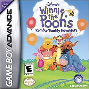 Winnie the Pooh Rumbly Tumbly - Game Boy Advance