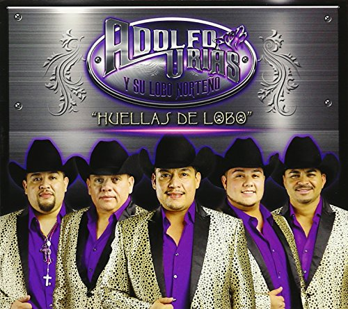 CD : Adolfo Urias - Huellas Del Lobo (CD)