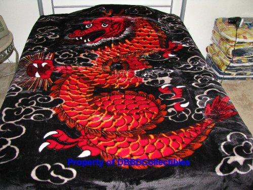 Dragon Blankets Dragon Style Queen Blanket