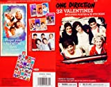 1D One Direction 32 Valentines Day Classroom Exchange Cards & 35 Stickers - Includes Bonus Poster Inside!
