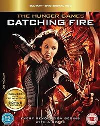 The Hunger Games: Catching Fire - Triple Play [Blu-ray + DVD + UV Copy] [2013]