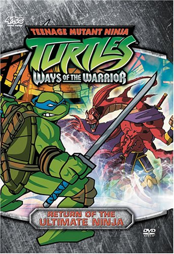Teenage Mutant Ninja Turtles - Season 3, Volume 3: Return Of The Ultimate Ninja (Ways Of The Warrior) front-329747