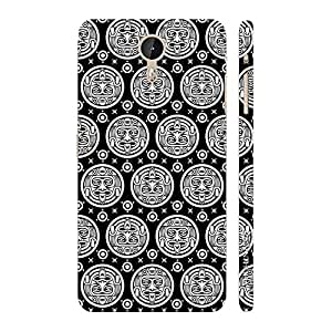 Enthopia Designer Hardshell Case Black Woodo Back Cover for LeTV Le One Pro
