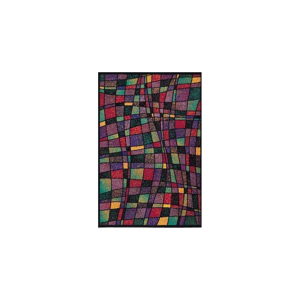 Stained Glass Area Rug