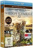 Wildlife Südafrika 3D - Auf den Spuren von weissen Haien und den Big Five (3D Version inkl. 2D Version & 3D Lenticular Card) [3D Blu-ray]