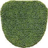 オカトー SHIBAFU 洗浄・暖房用フタカバー グリーン
