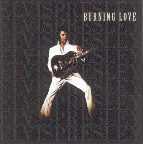 Original album cover of Burning Love by Elvis Presley