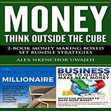 Money: 2-Book Money Making Boxed Set Bundle Strategies Audiobook by Alex Nkenchor Uwajeh Narrated by Annette Martin