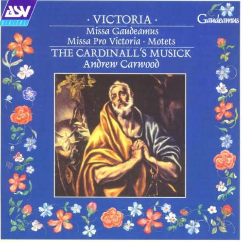 Victoria: Missa Gaudeamus, Etc / Carwood, Cardinall'S Music
