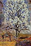 ボナール・「花咲くあんずの木」 プリキャンバス複製画・ 【ポスター仕上げ】(6号相当サイズ)
