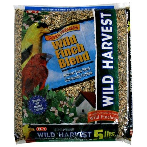 Image of 8in1 Wild Harvest Wild Finch Blend (Barrier Bag), 5-Pound (B000FPJ6VO)