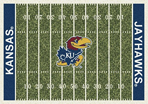 Kansas Jayhawks Milliken NCAA Home Field Area Rug (10'9