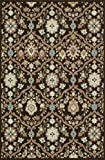 Loloi ARBOAY-01CTIV7AA9 Area Rug, 7-Feet 10-Inch by 10-Feet 9-Inch, Chocolate/Ivory