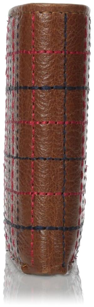 Billetera Tommy Hilfiger para hombre,  de varios compartimientos, color silla de montar, tamaño único.