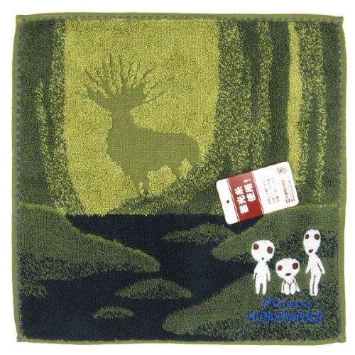 Mini towel Mononoke Hime 'Kodama' collection towels